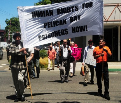 Hunger strike supporters CDCR HQ Sacto 072511 by Indymedia