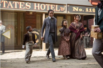 '12 Years a Slave' Northup family before capture, daughter Quvenzhane Wallis by Fox Searchlight Pictures