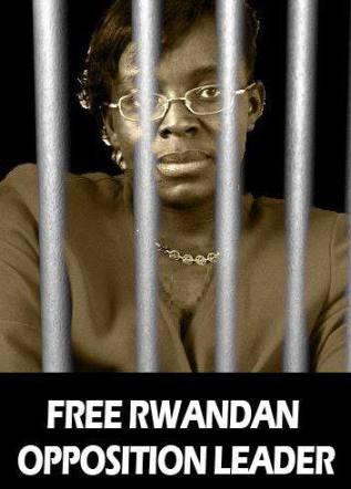 Victoire Ingabire behind bars