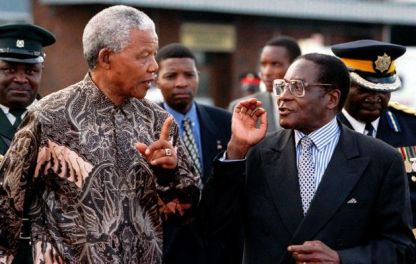 Mandela-Mugabe