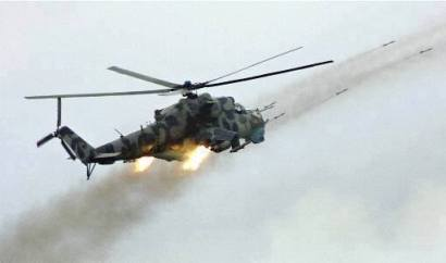 South African helicopter gunship Denel Rooivalk