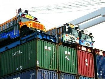 IFCO Pastors for Peace Friendshipment Caravan cargo arrives in Havana 083112