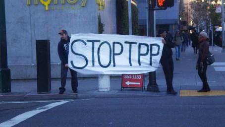 Flush TPP 'Stop TPP' 013114 by Carol Harvey