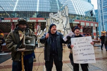 Menard hunger striker support rally Chicago 021314-3