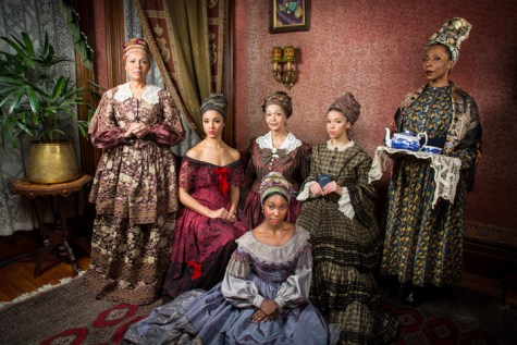 'The House That Will Not Stand' by Marcus Gardley about 'free' women of color in 1836 New Orleans at Berkeley Rep 0214 by Cheshire Issacs