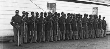 Black infantry