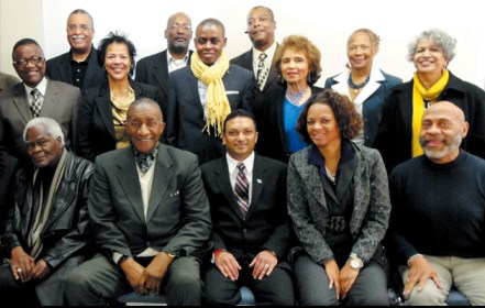 San Francisco African American Chamber of Commerce event group photo