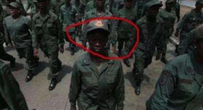 Venezuelan tweet 'Invading troops dressed like National Guard'