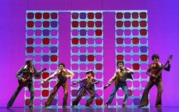 """The Jackson 5 in the touring company of """"Motown the Musical"""""""