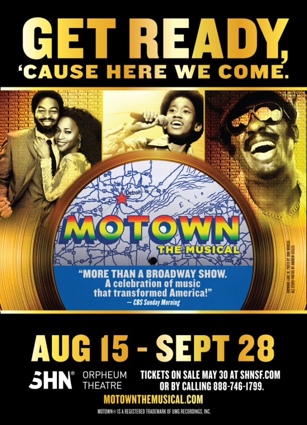 'Motown the Musical' poster