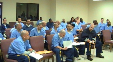 CSATF offers college courses to Level IV prisoners.