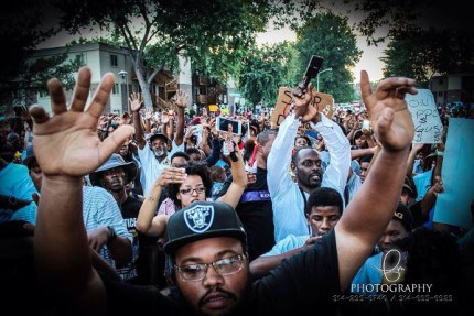 Against the full force of U.S. military might, Ferguson protesters kept coming. – Photo: FM Photography 13