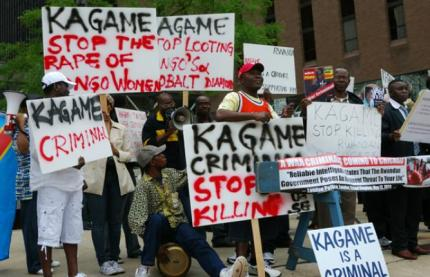 Rwandans and Congolese joined forces to protest the first Rwanda Day, held in Chicago, Illinois, in 2011, and at each Rwanda Day since.