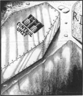 An unknown prisoner in solitary confinement drew how it feels to be entombed indefinitely.