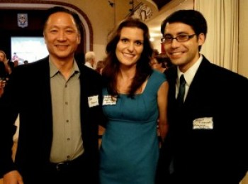 Elected Public Defender Jeff Adachi and Bayview Hunters Point Community Legal co-founders Virginia Taylor and Adrian Tirtanadi are some of the most innovative and dedicated legal professionals in the movement for social justice in the San Francisco. This photo was taken in the Russian Center ballroom at last year's gala.
