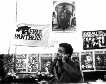 In 1970 when he was only 15, Mumia was already serving as minister of information for the Philadelphia Black Panthers, working as a journalist on The Black Panther newspaper. – Photo: Philadelphia Inquirer