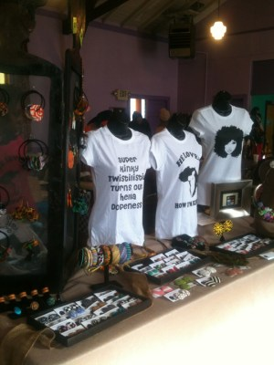 Some of the beautiful arts and crafts and fashions available at last year's African Diaspora Bazaar and Crafts Fair