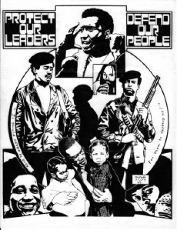 'Protect Our Leaders' art by Kevin 'Rashid' Johnson, web