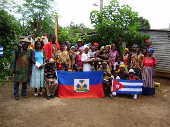 "In ""Reembarque,"" these descendants of Haitians gather in Camagüey, Cuba."