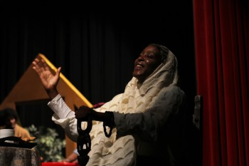 "Yolanda Stevenson as Older Harriet in ""Go Tell It! A Harriet Tubman Christmas Story"""