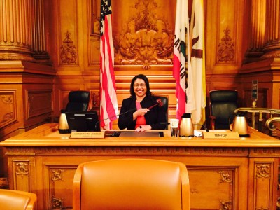 The San Francisco Board of Supervisors elevated first term Supervisor London Breed to its presidency on Jan. 8, voting 8-3, then 11-0 to make her the second Black woman after Doris Ward in 1990 to hold the seat. The board president is second only to the mayor as the most powerful person in San Francisco.