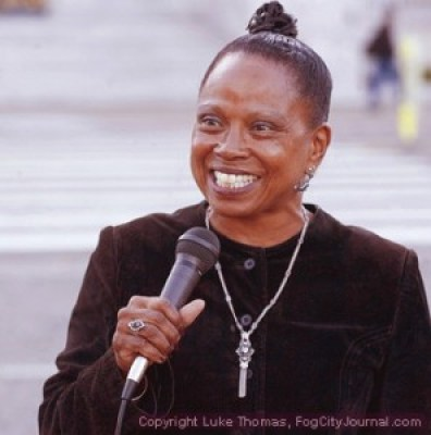 Dr. Ahimsa Porter Sumchai used her mayoral campaign in 2007 to call attention to the urgent need for environmental justice. – Photo: Luke Thomas