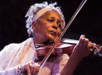 Violinist Sandi Poindexter – Photo: Malaika Kambon