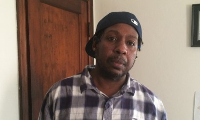 """Lamont Underwood: """"I kept telling them I didn't know anything about who shot the cop. Eventually they said they believed me."""" – Photo: Jon Swaine, Guardian"""