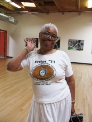Blanche Brown – Photo courtesy of Congo SQ West