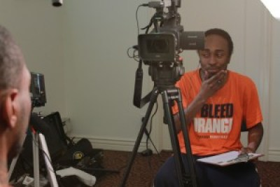 Mark Williams interviews Malcolm Shabazz for his film. He most remembers Malcolm's potential and his growth.