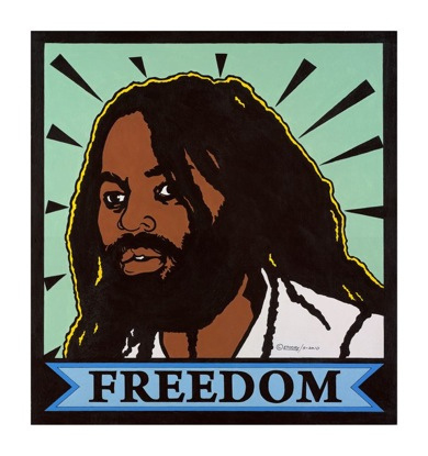 """Freedom for Mumia"" – Art: Former Black Panther Party Minister of Culture Emory Douglas"