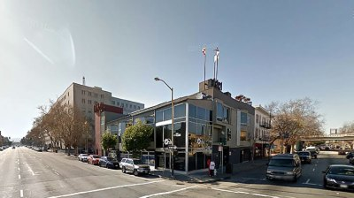 This is 855 Bryant, the location of the proposed new SF jail, which would displace the SRO units and a McDonald's.