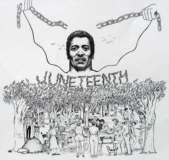 Juneteenth drawing