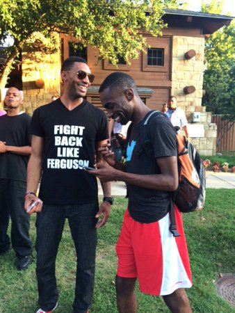 The people of McKinney, like Black youth all over the country, are taking the freedom fighters of Ferguson, Missouri, as their model. – Photo: Elroy Johnson