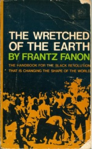 """A well worn copy of """"The Wretched of the Earth"""" by Frantz Fanon"""