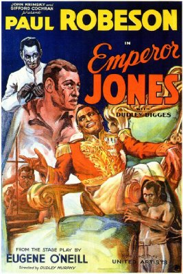 'The Emperor Jones' starring Paul Robeson poster 1933