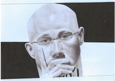 Billy Sell, self-portrait – Photo courtesy Prisoner Express