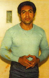 This is the photo of Hugo, taken in 1982, that inspired the T-shirt design.