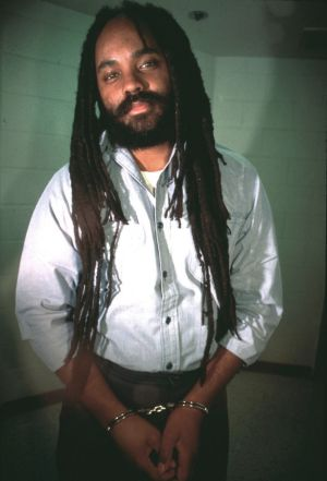 Mumia Abu Jamal is pictured during his 30 years in solitary confinement on death row before his death penalty was dropped in 2011. – Photo: Lisa Terry, Liaison Agency