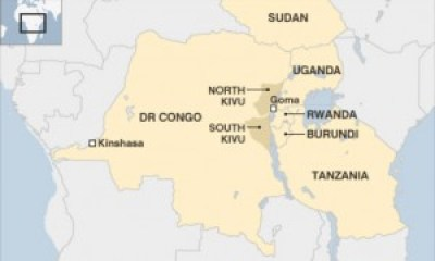Central Africa map-2