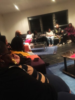 Hanging out one evening with our host, Napo Masheane, we discussed culture, self-esteem and what it means to be a woman.