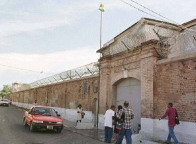 """This is St. Catherine's Prison in Kingston, Jamaica. Britain is spending £3million to modernize Jamaican and Nigerian prisons in an effort to save £420 million a year imprisoning 900 British residents of Jamaican descent and 600 of Nigerian descent in British prisons by """"sending them home."""" However, British law requires the prisoner to agree to the transfer, and many Black prisoners were born and raised in Britain and have few ties to their forefathers' homelands."""
