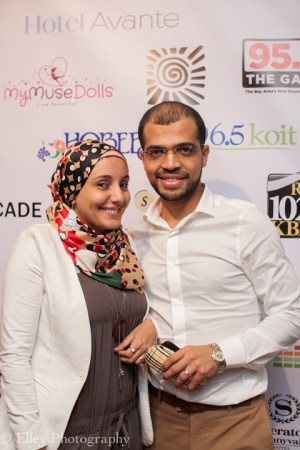 "Egyptian filmmakers Ms. Omnya Abdelwahab, director of the short film, ""Photography,"" and her husband, Mohamed Essam, director of the short film, ""Ice Cream,"" were among the many filmmakers attending SVAFF 2015. – Photo: Elley Ho, Elley Photography"