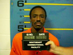 Shyheim D El-Mu'min (James Lenoir) in a photo posted online by the Missouri Department of Corrections