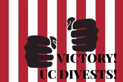 'Victory! UC Divests!' by Afrikan Black Coalition