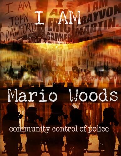 """I am Mario Woods"" – Art: Miles Stryker"