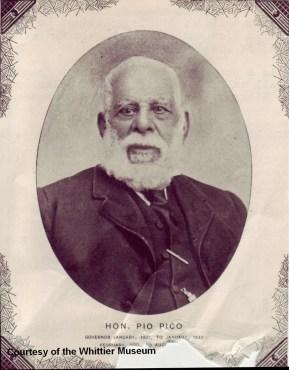 Pio Pico, the last governor of Mexican California