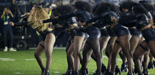 Beyoncé's halftime show at Super Bowl 50, played less than 50 miles from Oakland, where the Black Panther Party was founded 50 years ago, was spectacular. – Photo: AP