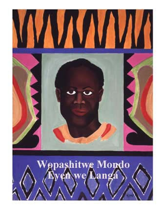 Mondo was a painter as well as a poet, writer and all 'round revolutionary. This is his depiction of Kwame Nkrumah.