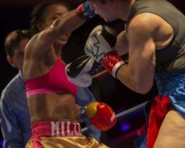 Raquel Miller vs Sara Flores- RaquelGÇÖs straight right to FloresGÇÖ eye 052116 by Malaika, web